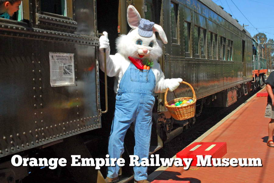 Bunny Train at the Orange Empire Railway Museum