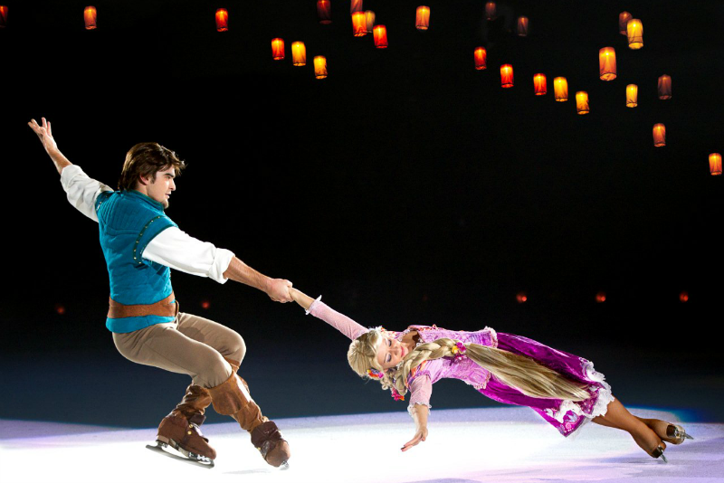 Disney On Ice Treasure Trove Rapunzel and Flynn