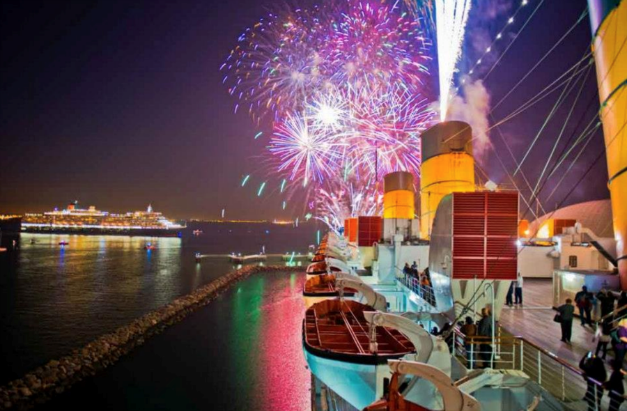 4th of July on the Queen Mary