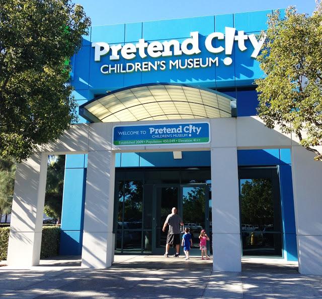 Entering Pretend City