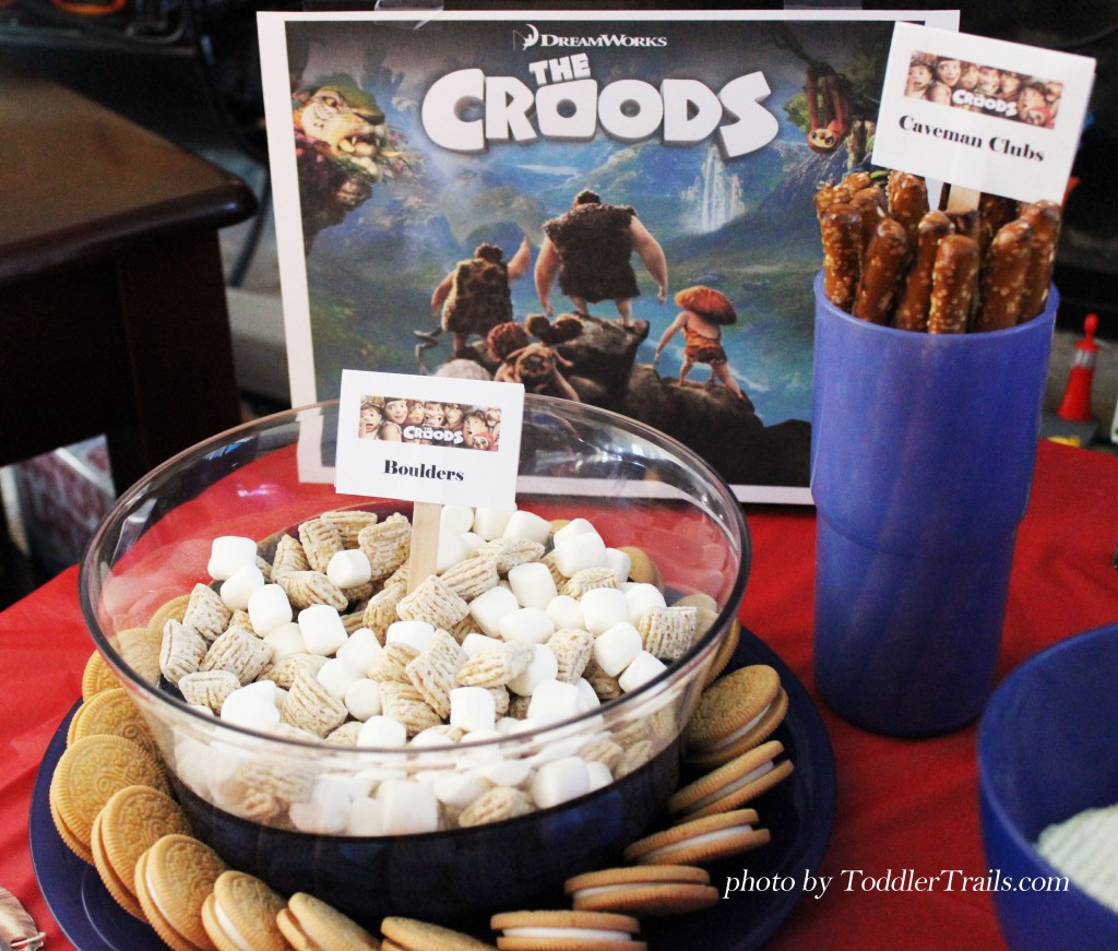 Croods DVD PJ Party Boulders