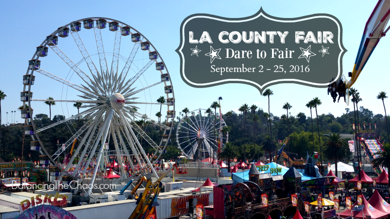 LA County Fair Farris Wheel