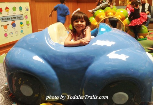 Brea Mall Kidgets Blue Car