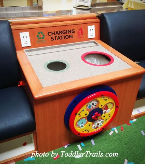 Brea Mall Kidgets Charging Station