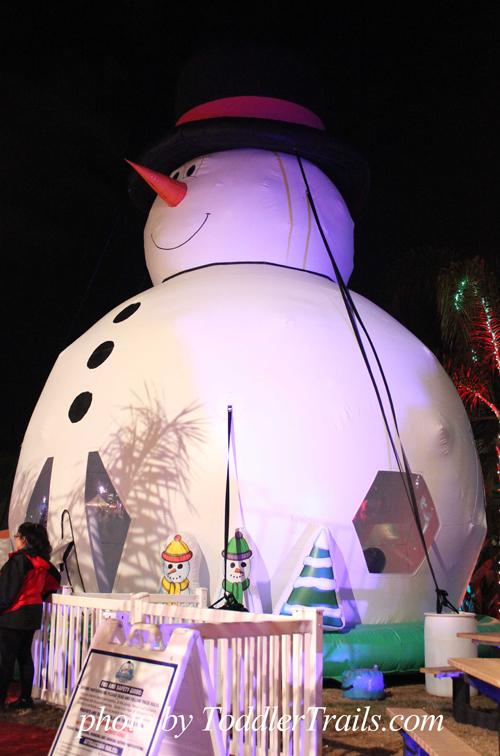 Chill Snowman Bounce