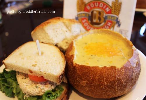 Boudin Tuna and Broccoli Cheese