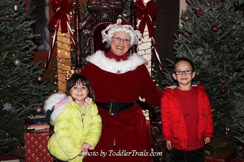 Christmas Train with Mrs Claus
