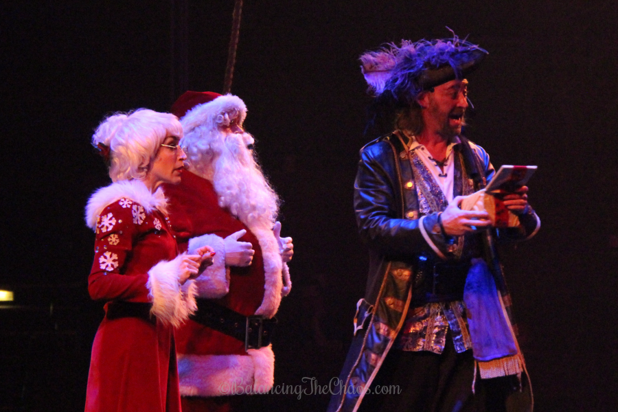 Holiday show at Pirates Dinner Adventure