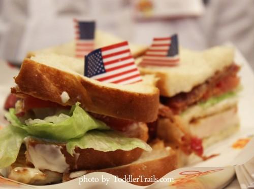 Johnny Rockets Sandwiches