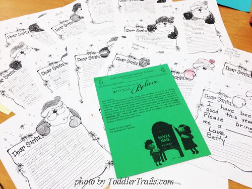 National Believe Day Letters to Santa