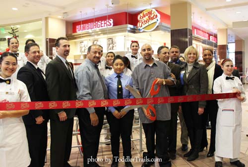 Ribbon Cutting Johnny Rockets