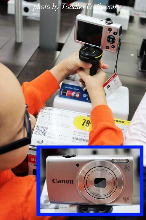 Tech Gift Cannon Camera #shop