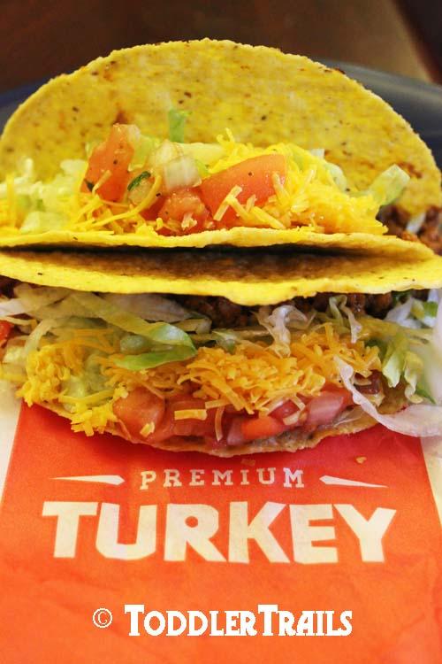 Del Taco Turkey Taco