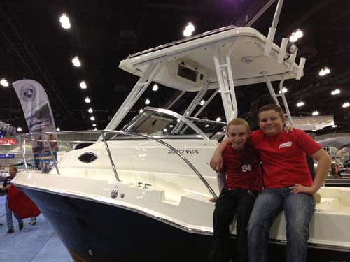 LA Boat Show Kids