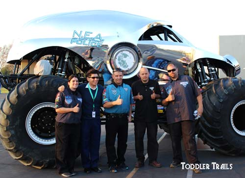 New Earth Authority Police Monster Truck Crew
