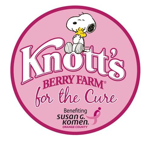 Susan G Komen & Knotts Berry Farm for the cure