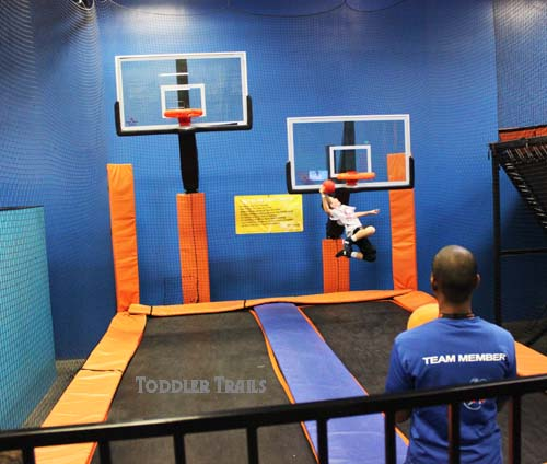 Skyzone Basketball Court