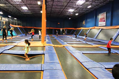 Sky Zone Large Trampoline