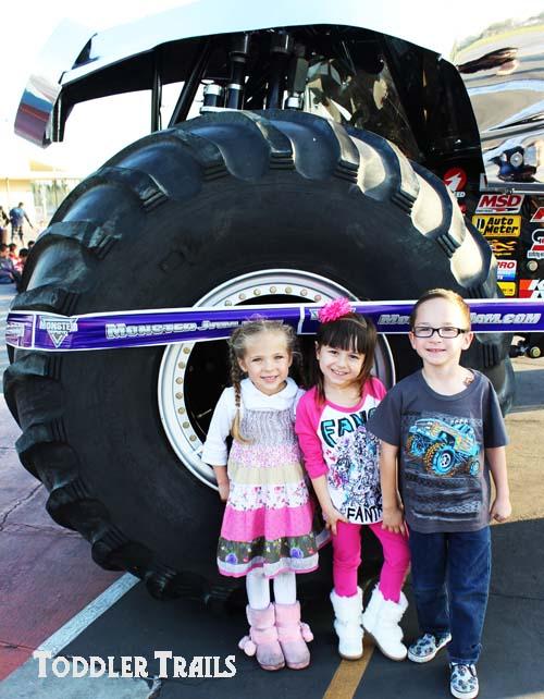 Monster Jam and Toddler Trails Kids