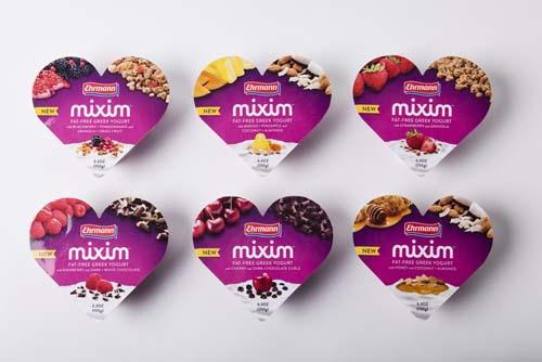 Ehrmann MIXIM Greek Yogurt Varieties