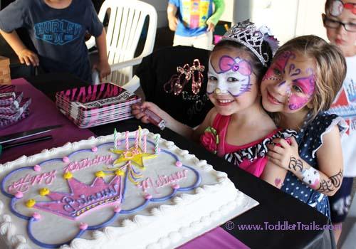 Fabulous 5 Birthday Party Cake