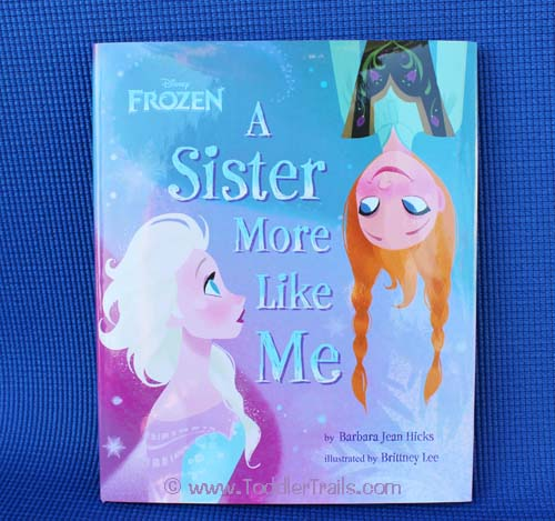 Frozen Book A Sister More Like Me