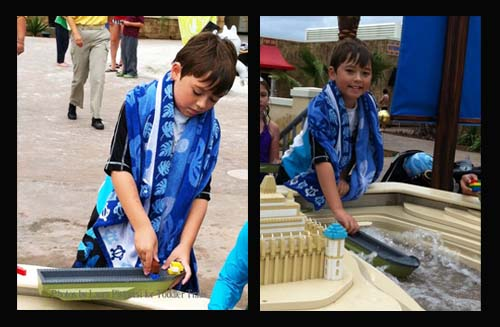 Legoland Chima Water Park Eglors Build Boat