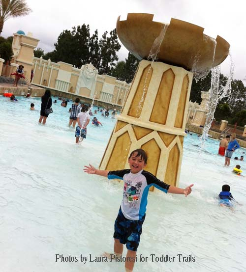 Legoland Chima Water Park Lion Temple Wave Pool
