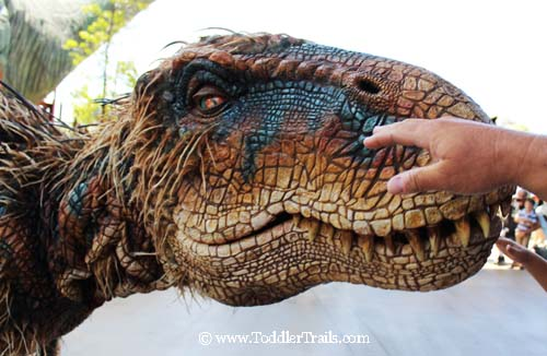Walking With Dinosaurs Baby T Up Close