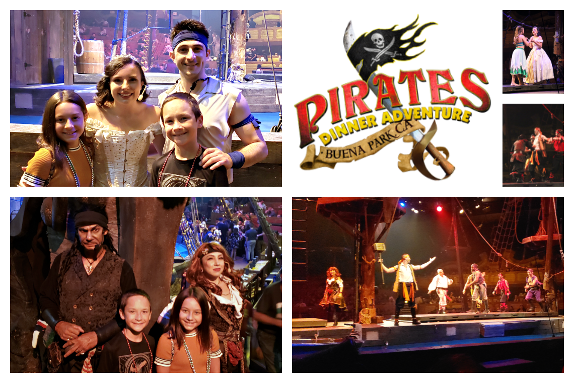 Pirates Dinner Adventure Southern California with an all new show, characters and special effects
