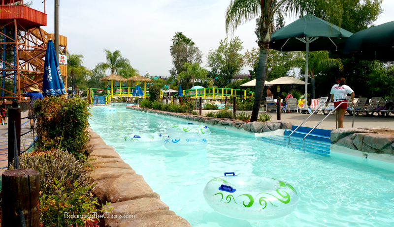 Raging Waters Lazy River Amazon Adventure