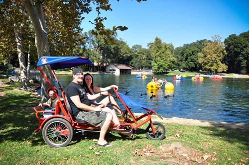 Wheel Fun Rentals at Irvine Park Bike
