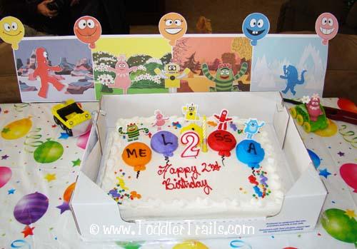 Prime A Toddlers Dream Yo Gabba Gabba Birthday Party Funny Birthday Cards Online Elaedamsfinfo
