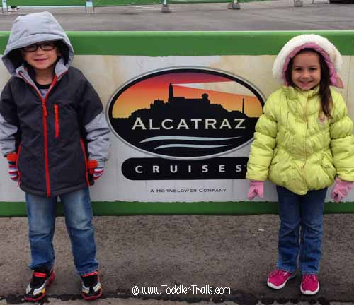 Alcatraz Cruises Sign