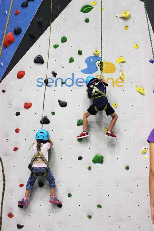 Climbing at SenderOne