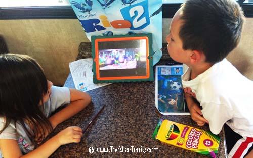 Rio2 DHD iPad