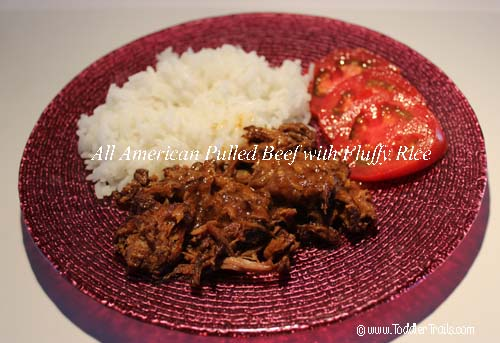Sous Kitchen All American Pulled Beef Fluffy Rice