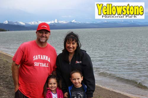 Willeys at Yellowstone