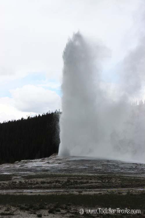 Yellowstone Old Faithful Geyser