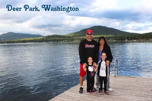 Deer Park Washington Lake Loon