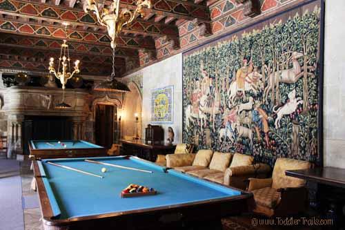 Hearst Castle Billard Room