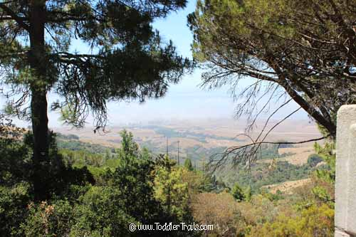 Hearst Castle Santa Inez Valley View