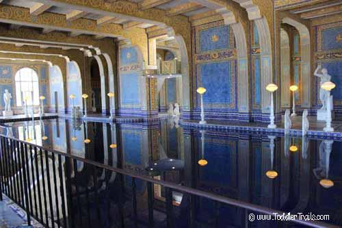 Hearst Castle The Roman Pool