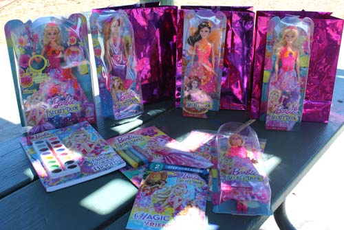 Barbie, Barbie and The Secret Door, Barbie dolls and books
