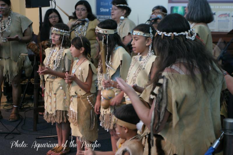 Moompetam Native American Festival Aquarium of the Pacific