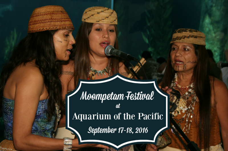 Moompetam Native American Festival Women at Aquarium of the Pacific
