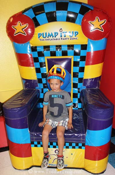 Pump It Up Birthday Boy