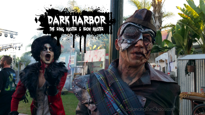 Dark Harbor Ring Master and Iron Master