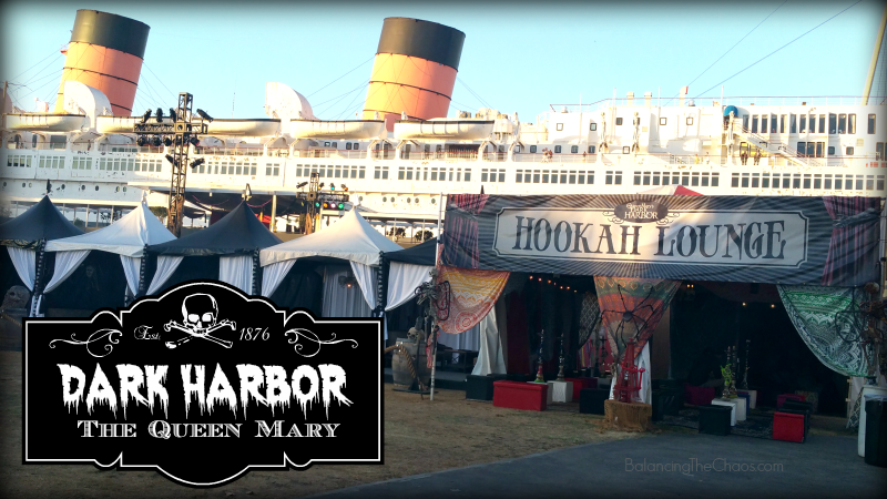 The Queen Mary Dark Harbor