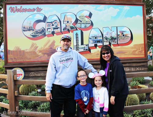 Gymboree Playdate, Carsland at Disney's California Adventure